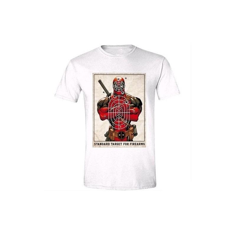 Tričko Deadpool - pánské - bílé - M