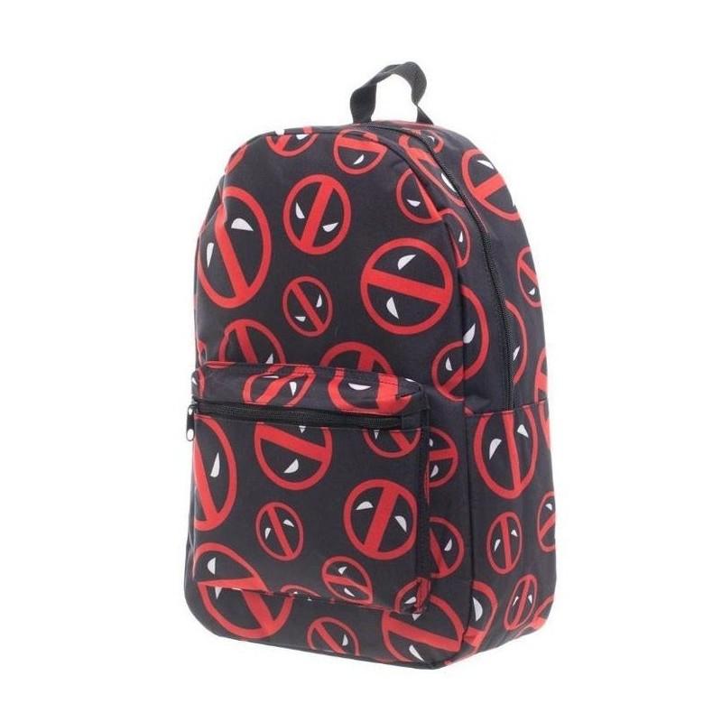 Batoh Deadpool - logo - černý
