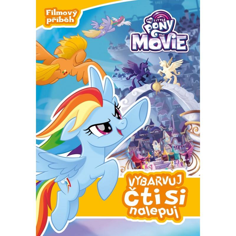 My Little Pony film - Vybarvuj, čti...