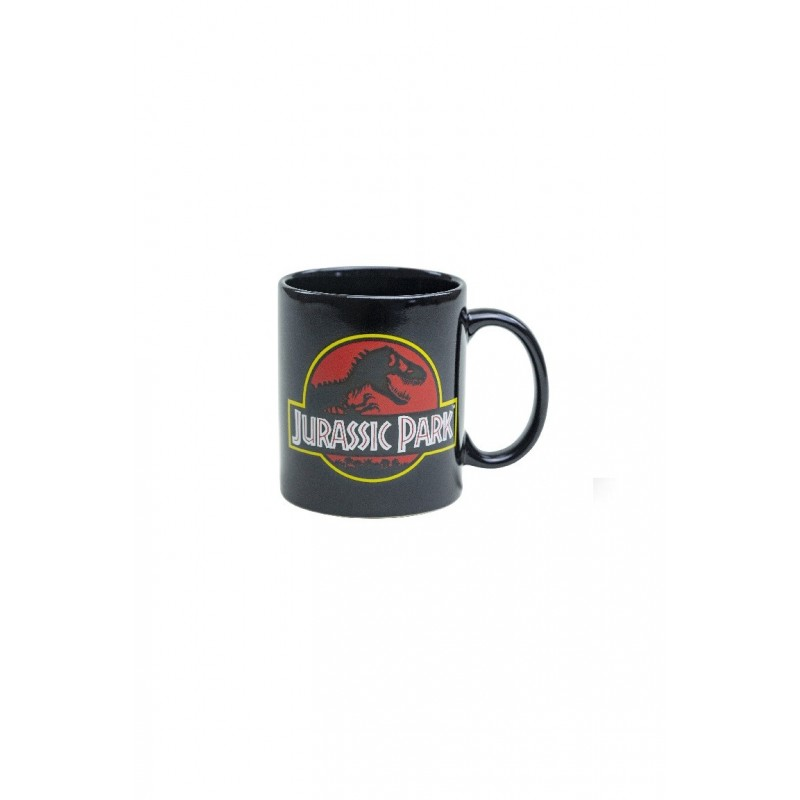 Hrnek Jurassic Park - černý, 315ml