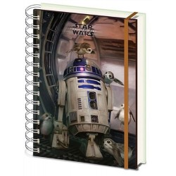 Zápisník Star Wars - R2D2 A5