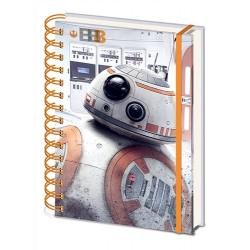 Zápisník Star Wars - BB-8 A5