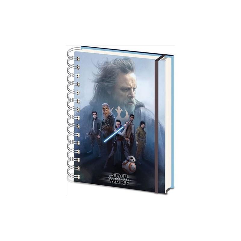 Zápisník Star Wars - The Last Jedi A5