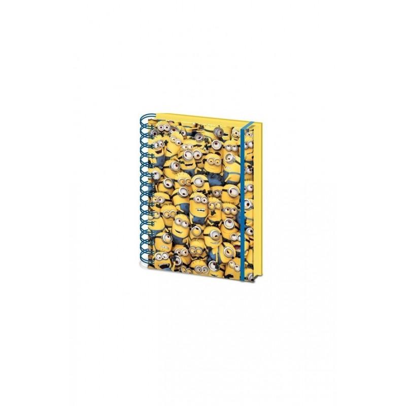Zápisník 3D Minions A5
