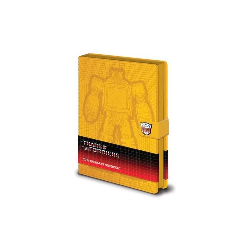 Zápisník Transformers G1 - Premium - A5