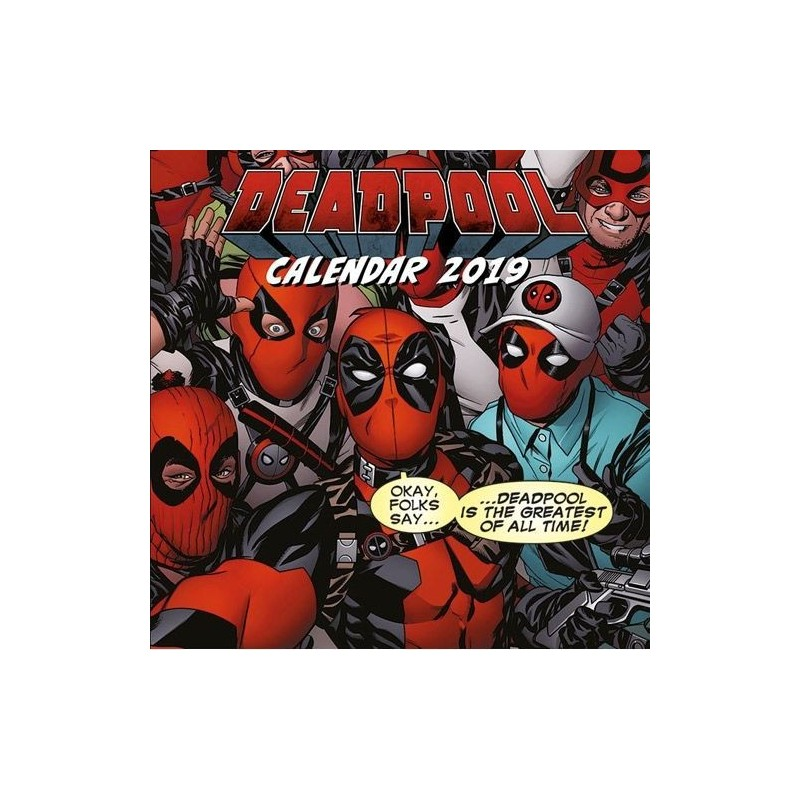 Kalendář 2019 - Deadpool