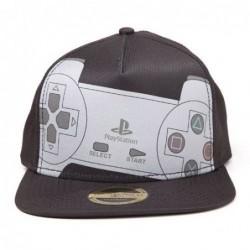 Kšiltovka PlayStation - šedá