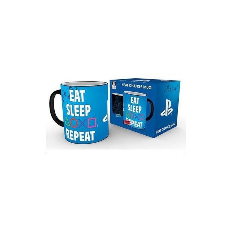 Hrnek PlayStation Eat-Sleep-Repeat-300ml