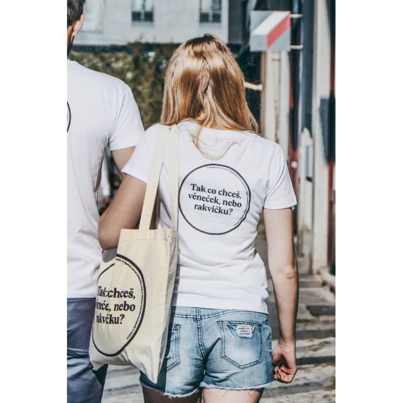 Tričko Věneček nebo rakvičku - dámské