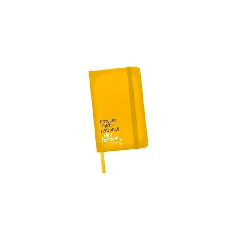 Zápisník (PIFF 2018) A6, žlutý
