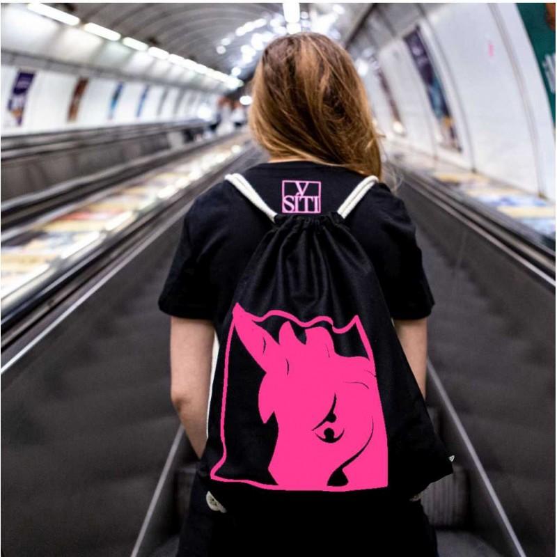 Batoh Jednorožec - růžový