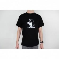 Pánské tričko černé - bílý...