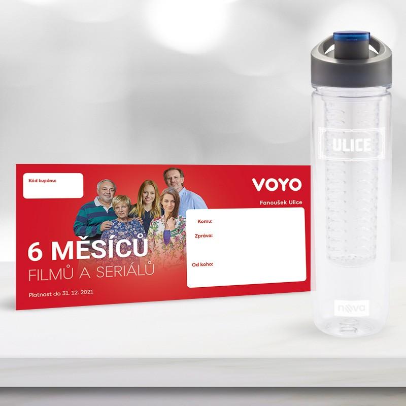 Předplatné Voyo na 6 měsíců a lahev...