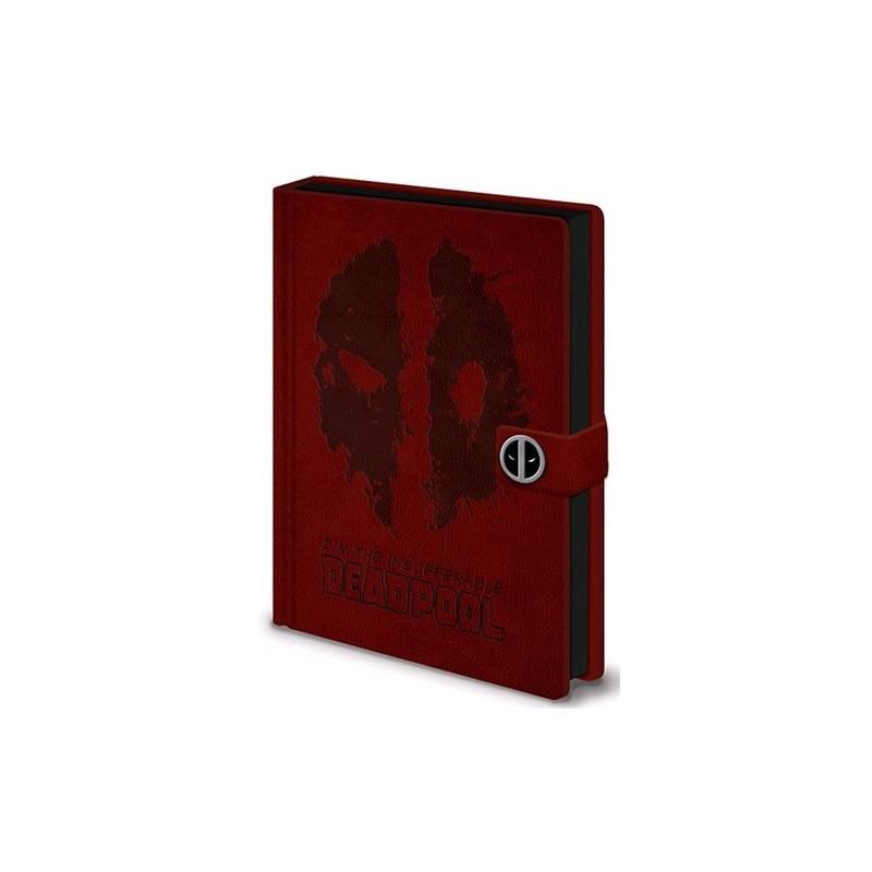 Zápisník Deadpool - Premium - A5
