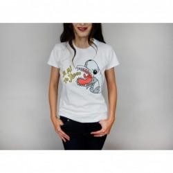 Dámské tričko bílé -...