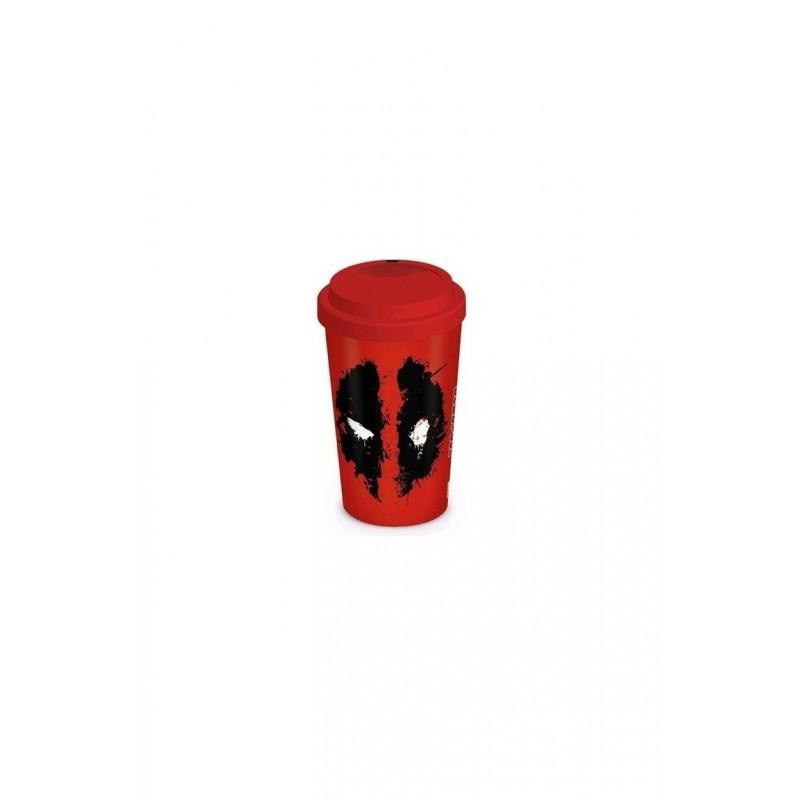 Hrnek Deadpool - cestovní - 340 ml