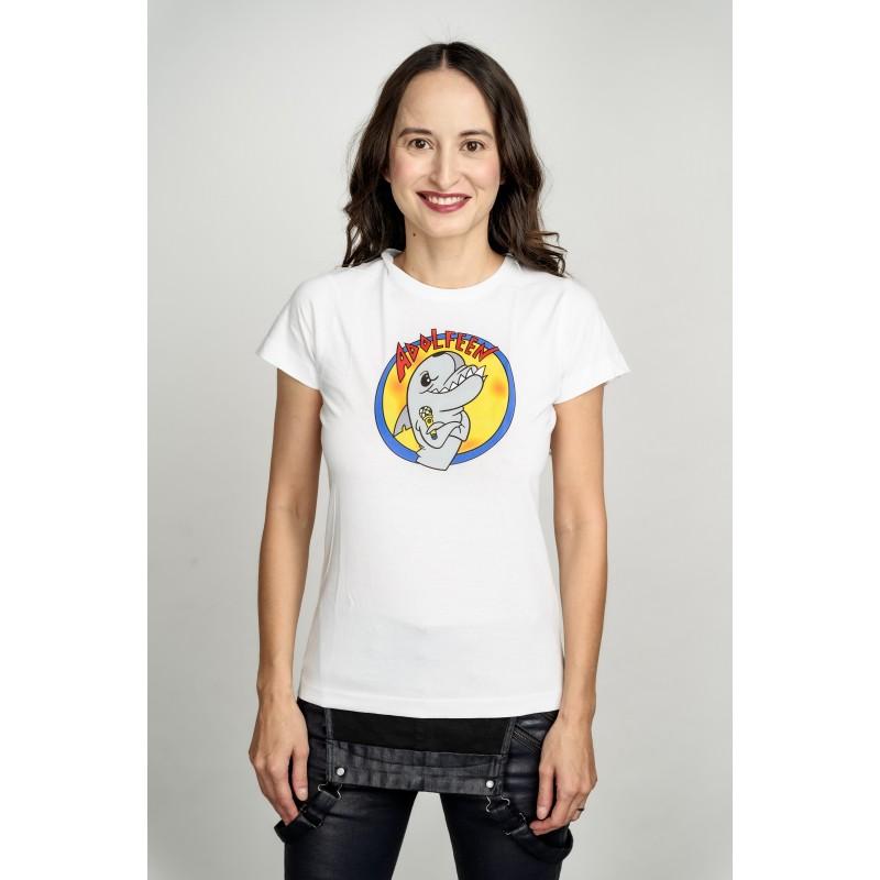 Dámské tričko bílé - Adolfeen