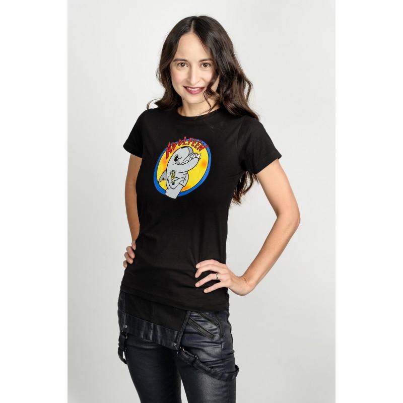 Dámské tričko černé - Adolfeen