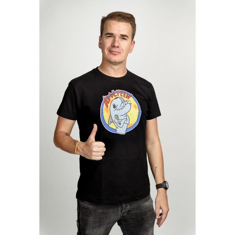 Pánské tričko černé - Adolfeen