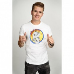 Pánské tričko bílé - Adolfeen