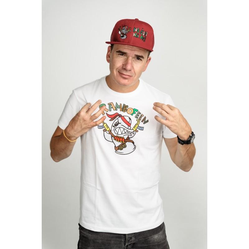 Pánské tričko bílé - Rambo