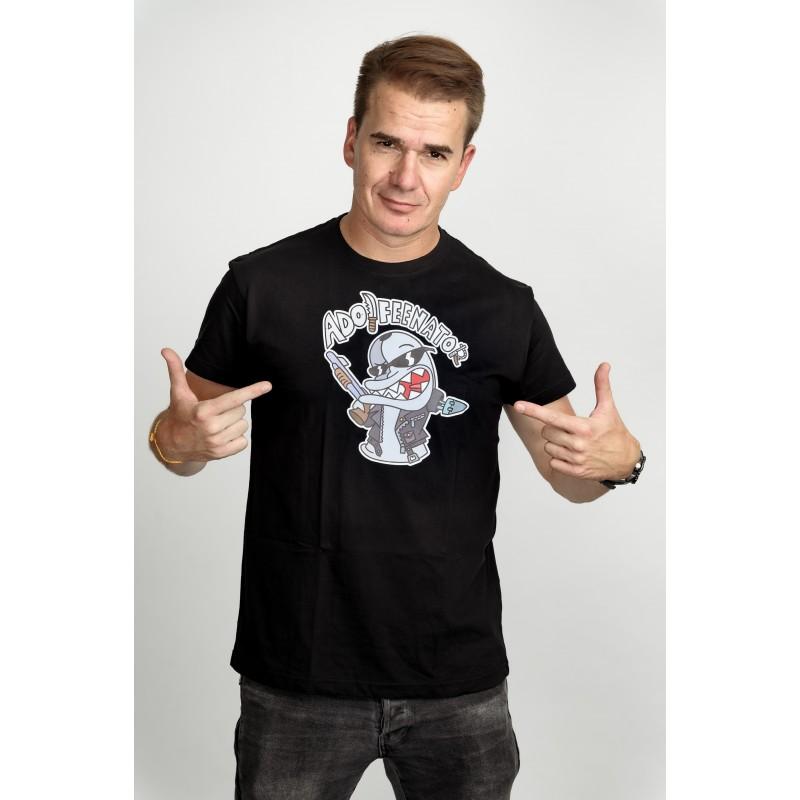 Pánské tričko černé - Adolfeenator