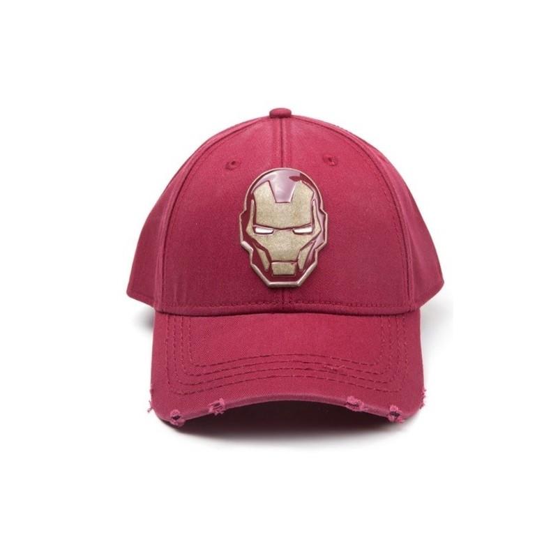 Kšiltovka Iron Man - červená