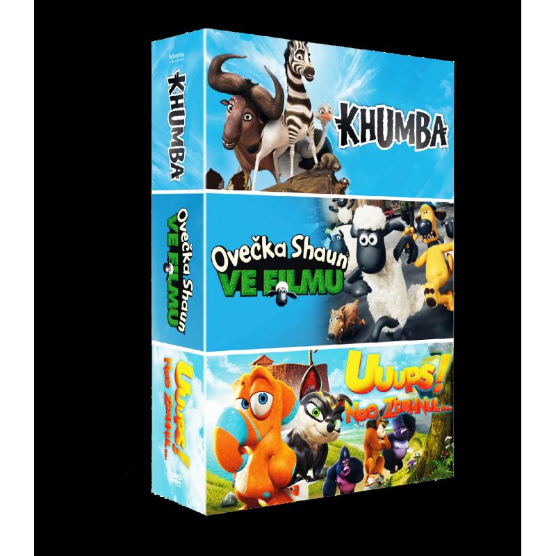 3 DVD Kolekce Animáky II.