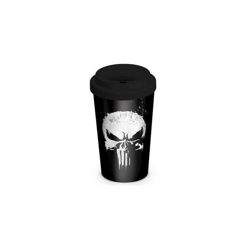 Hrnek Punisher - cestovní - 340 ml