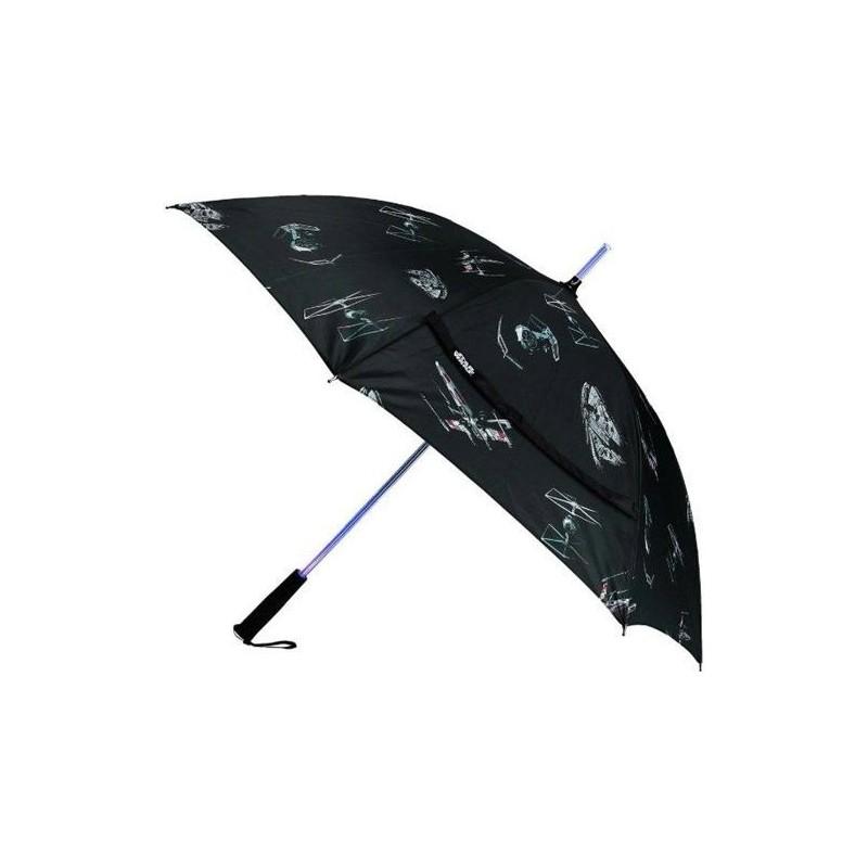 Deštník Star Wars - černý, svítící